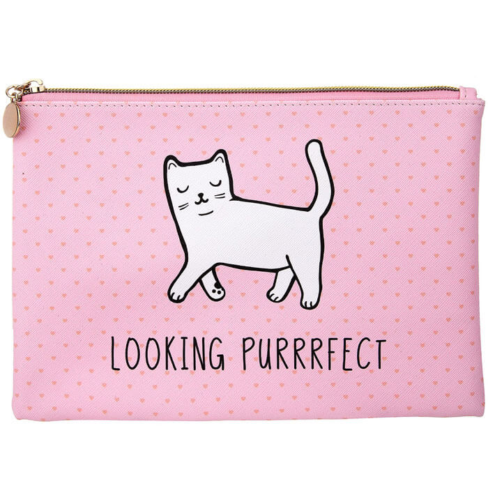 Looking Purrrfect Pouch