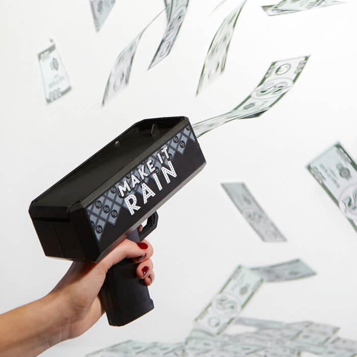 Make It Rain Money Pistole