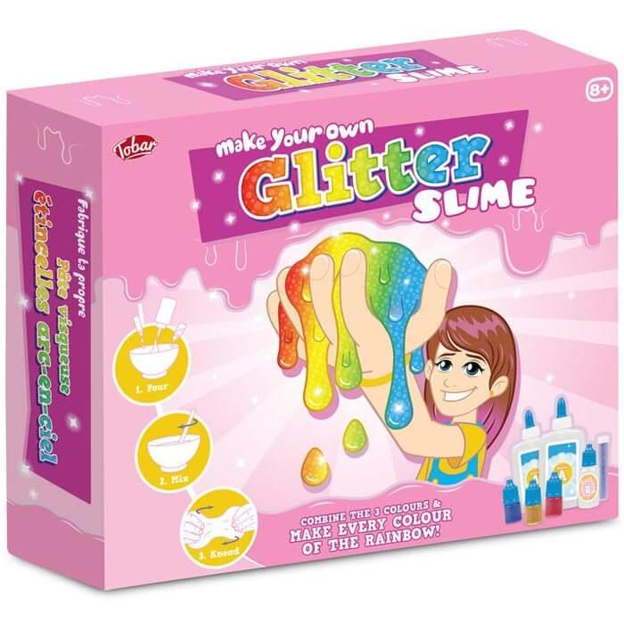 Make Your Own Glitter Slime