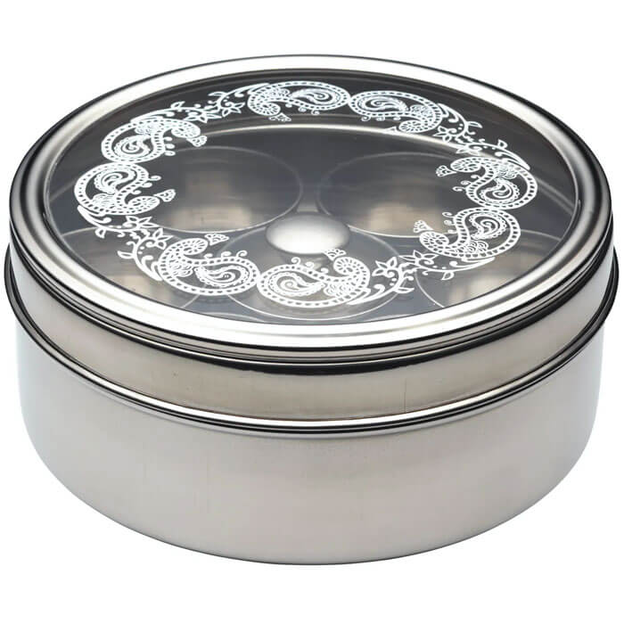 Indian Stainless Steel Masala Dabba