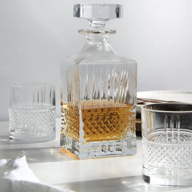 Maxwell & Williams Verona Three Piece Whiskey Set