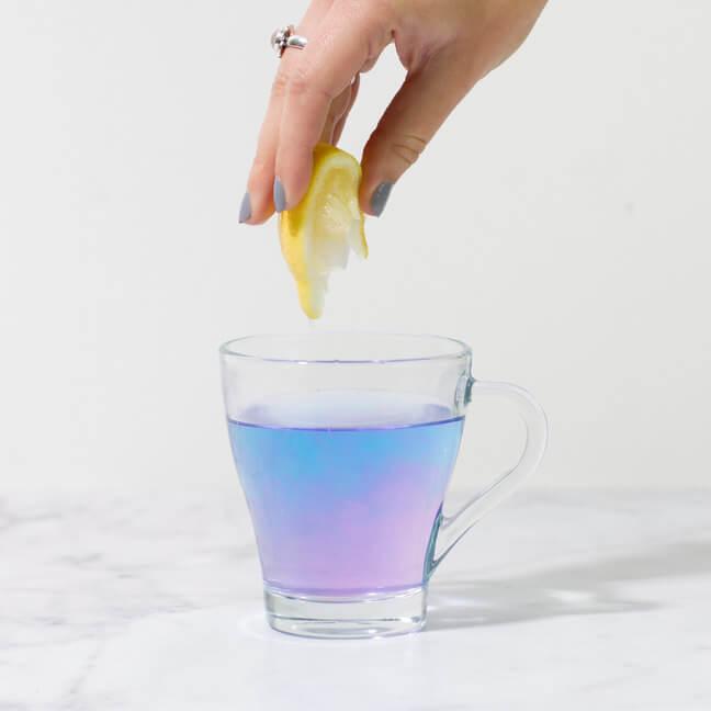Meerjungfrauen-Tee