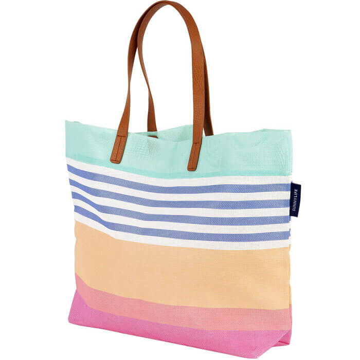 Catalina Luxe Mesh Beach Bag