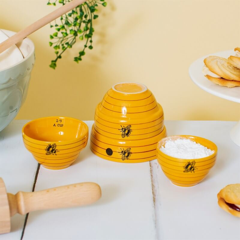 Bee Hive Measuring Bowls