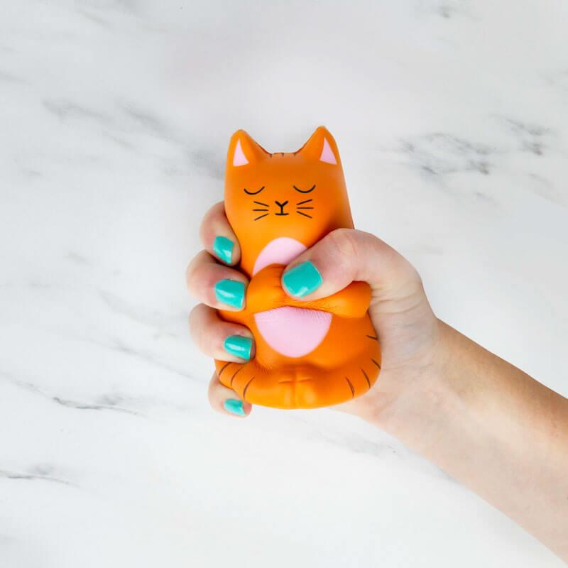 Meow-detation Stress Toy