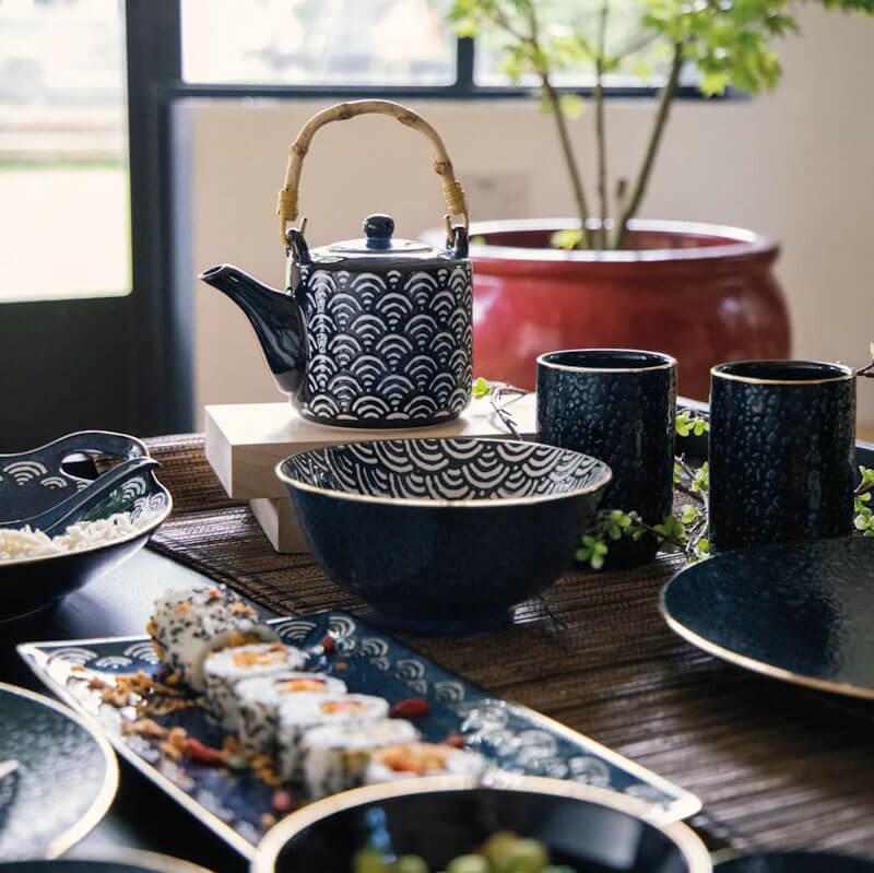 Mikasa Satori Tea Set