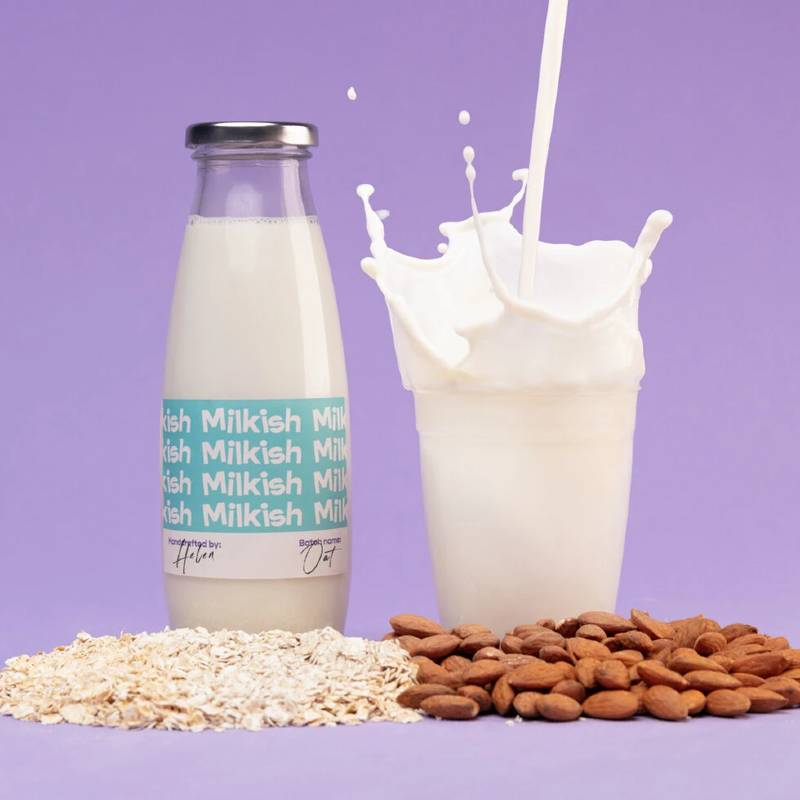 Milkish - Almond & Oat Drink Kit