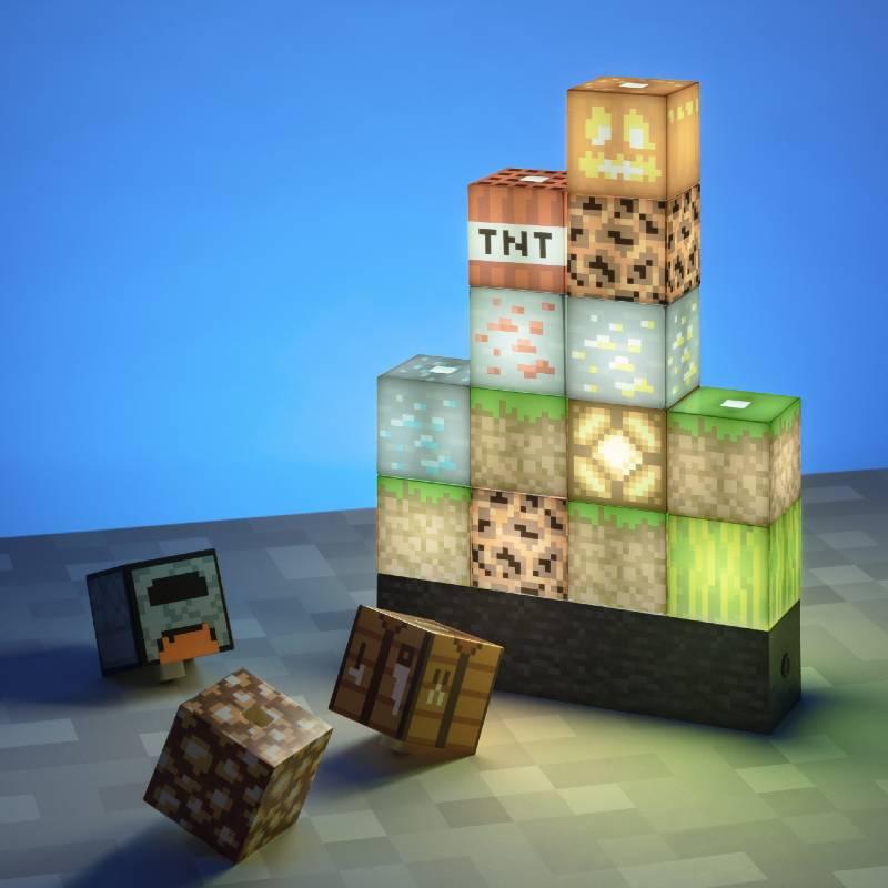 Minecraft Block-Lampe