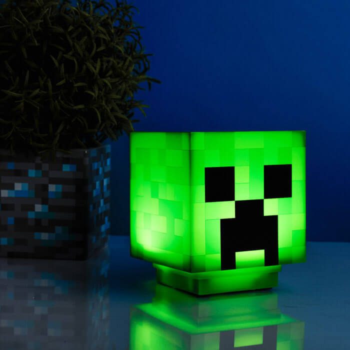Minecraft Creeper Lampe
