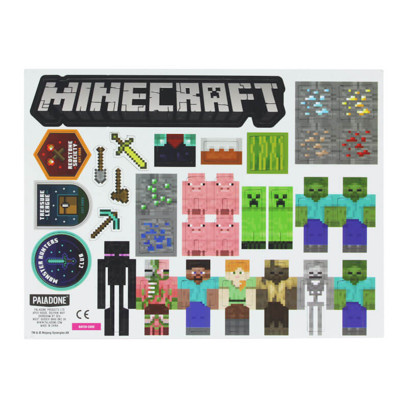 Minecraft Build a Level Magnet Set