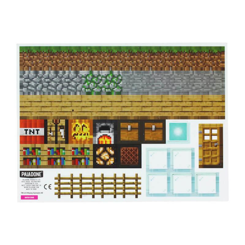Minecraft Build a Level Magnet Set