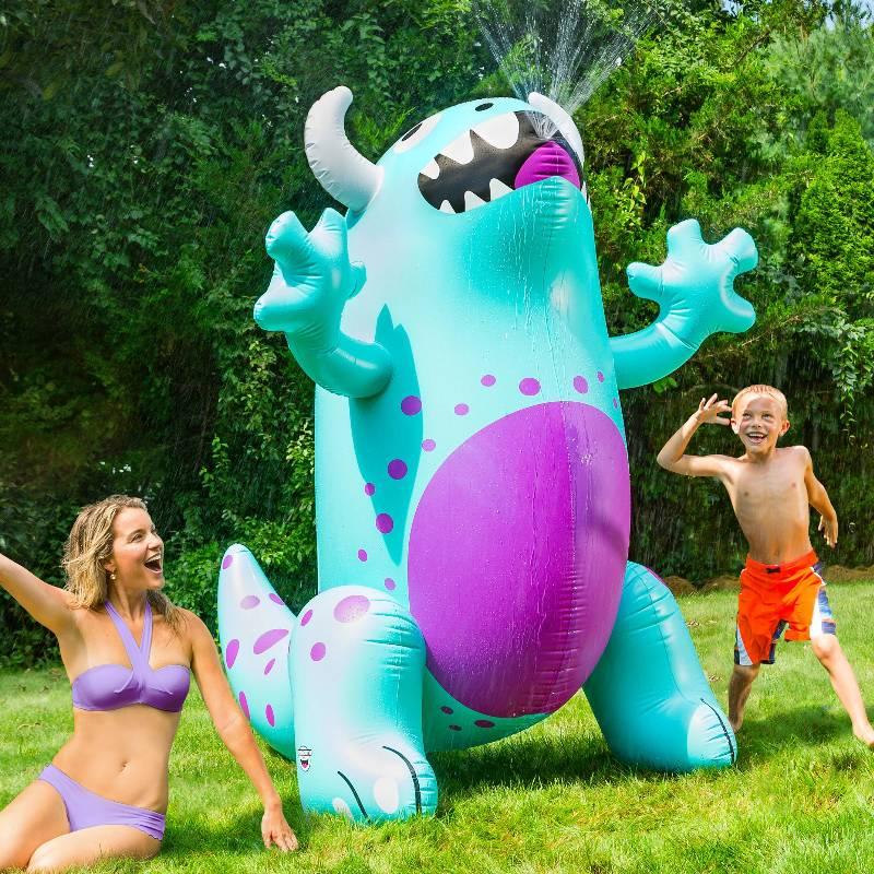 Ginormous Monster Yard Sprinkler