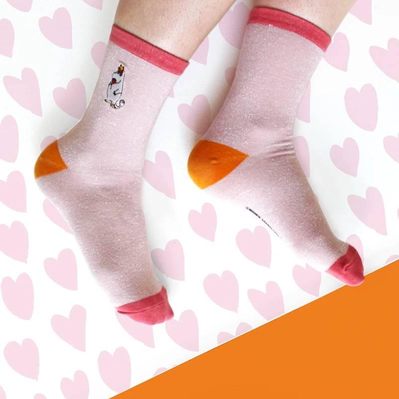Moomin Socks Glitter Snorkmaiden