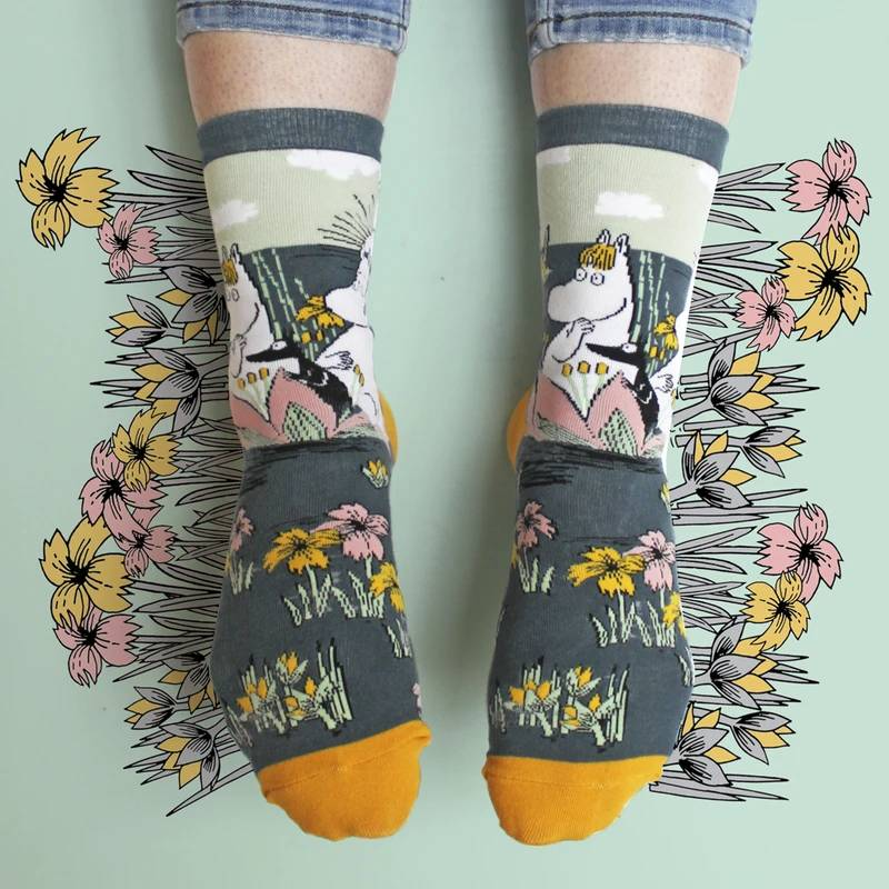 Chaussettes Moomin Lotus