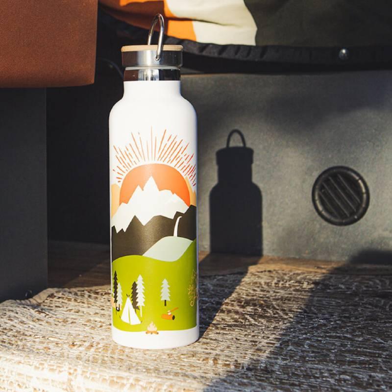 Mountain Adventure Water Bottle