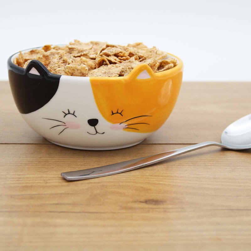 Cat Cereal Bowl