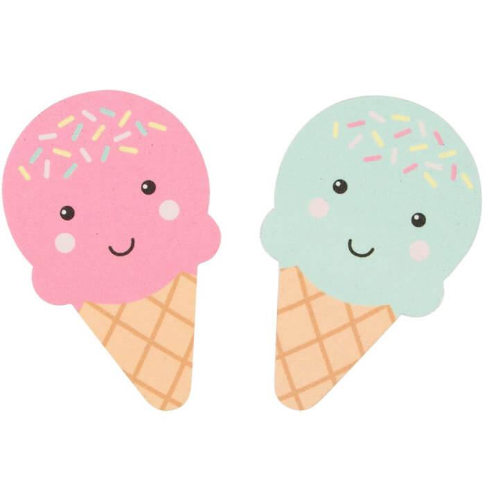 Nagelfeilen-Set Eiscreme