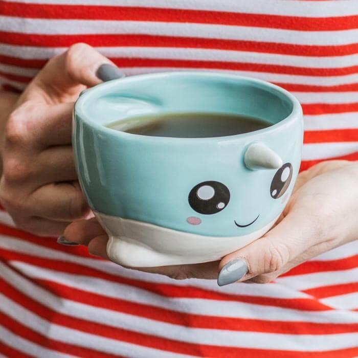 Cute Narwhal Mug