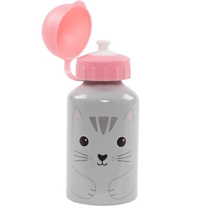 Kawaii Nori Cat Water Bottle