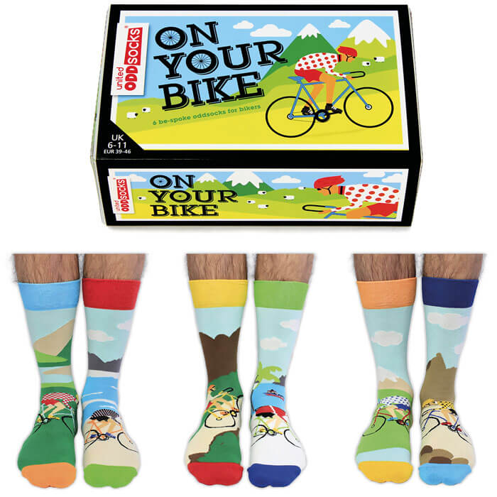 On Your Bike Socks Gift Set