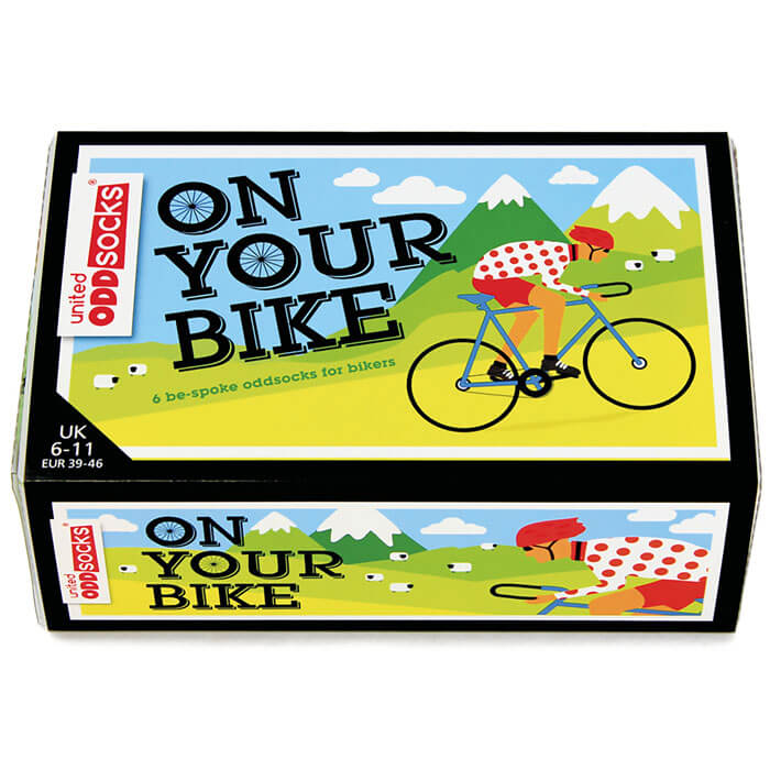 On Your Bike Socken-Geschenkset