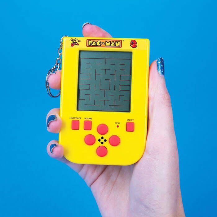 Pacman Keyring