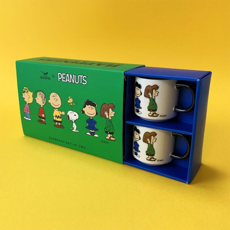 Peanuts Espresso Set