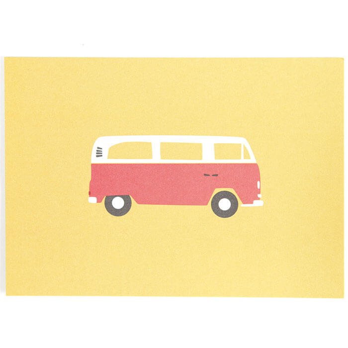 Campervan Post Card