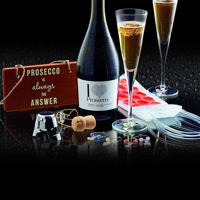 Prosecco Geschenk- Set