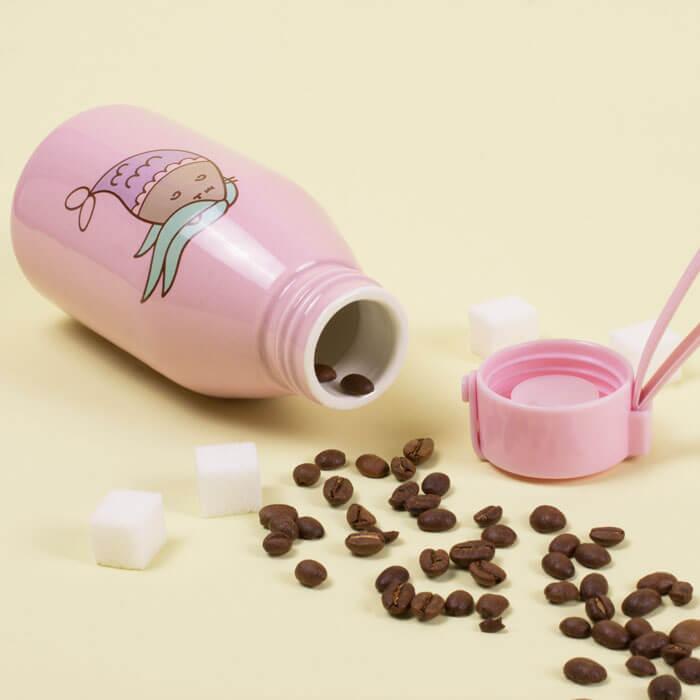 Pusheen Ceramic Travel Bottle