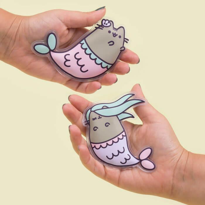 Meerjungfrau-Pusheen Handwärmer