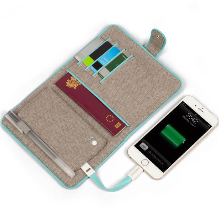 Passport Cover with Powerbank