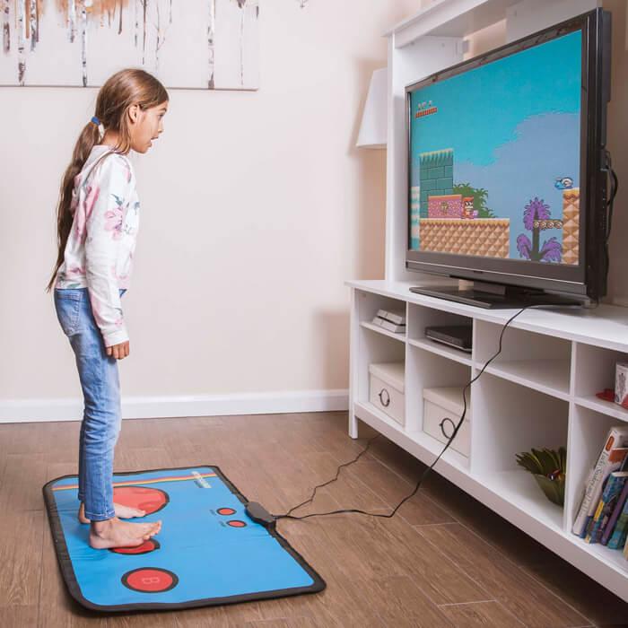 Retro Videospiel-Matte
