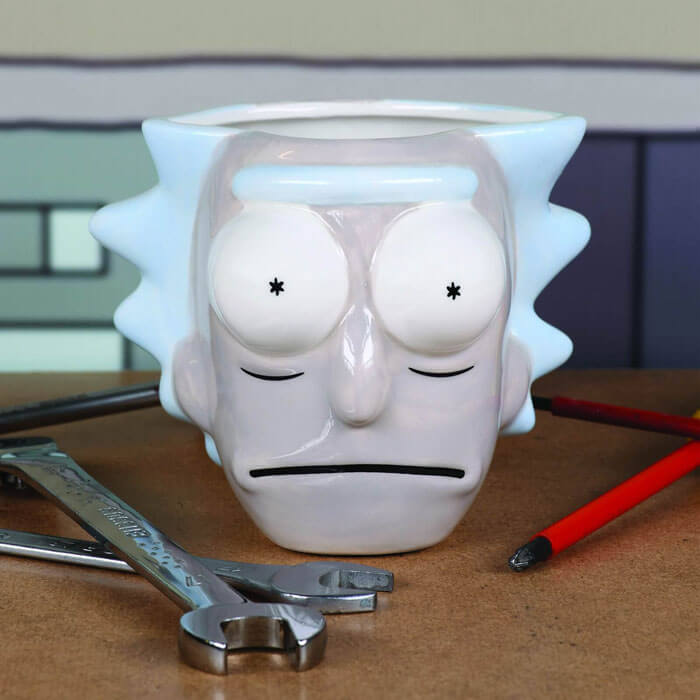 Rick and Morty 3D Rick Mug