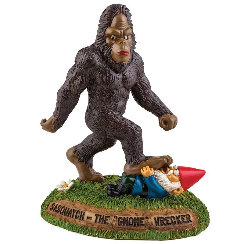 The Sasquatch Gnomewrecker