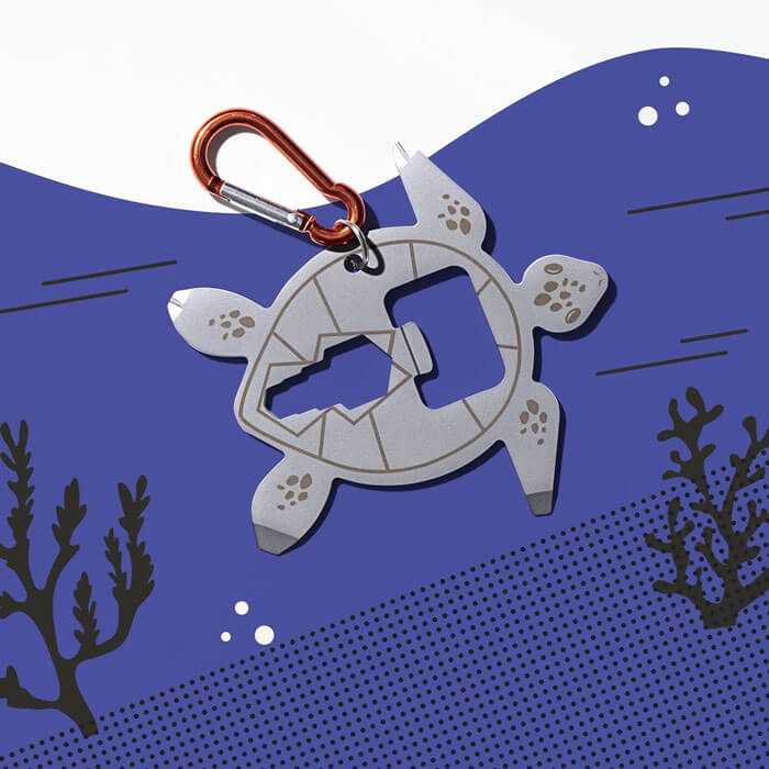 Sea Turtle Bicycle Multi-Tool