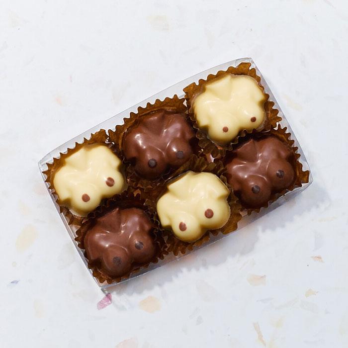 Chocolate Boobs