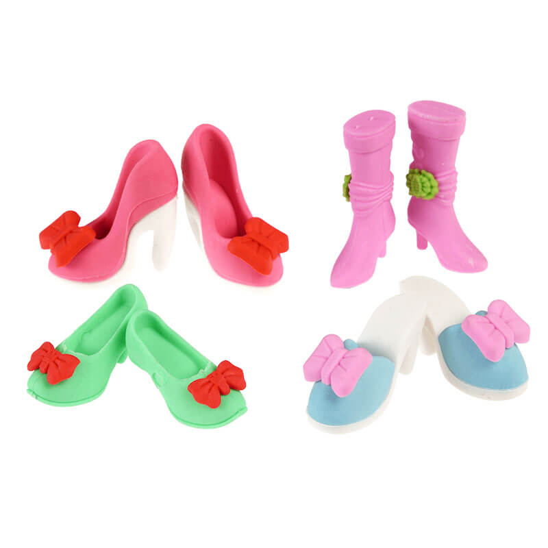 Pretty Shoe Erasers