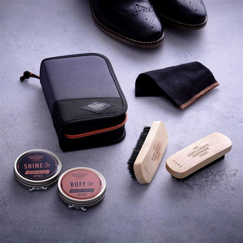 Gentlemen's Hardware Shoe Shine Kit