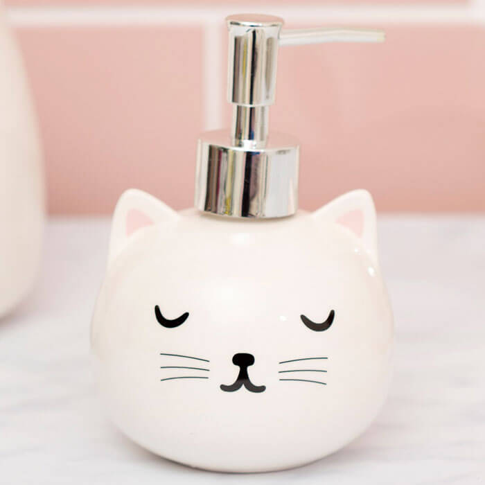 Cutie Cat Soap Dispenser