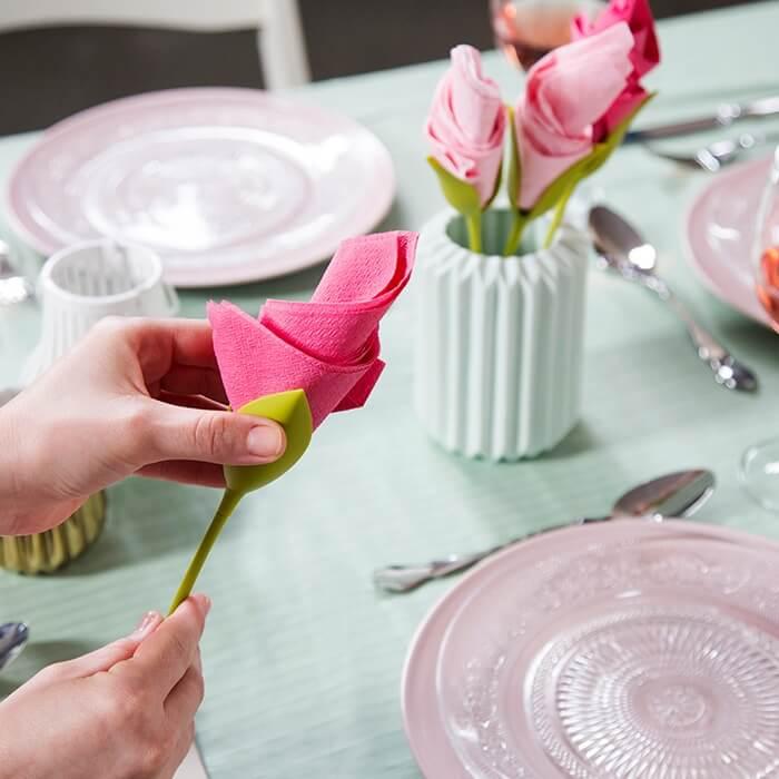 Serviettenhalter Blume