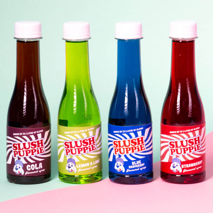 Slush Puppie Syrup Selection