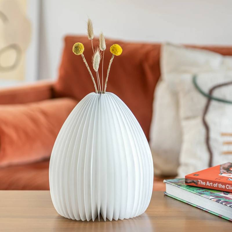 Smart Vase Light- Natural Walnut