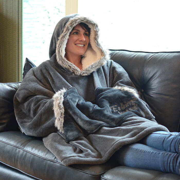 Snug-Rug Eskimo Hoody