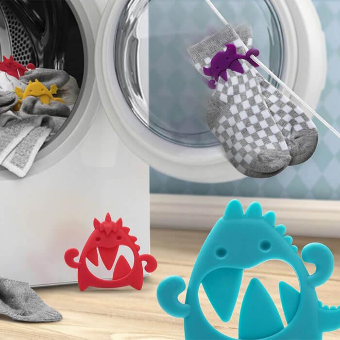 Monster Sockenclips