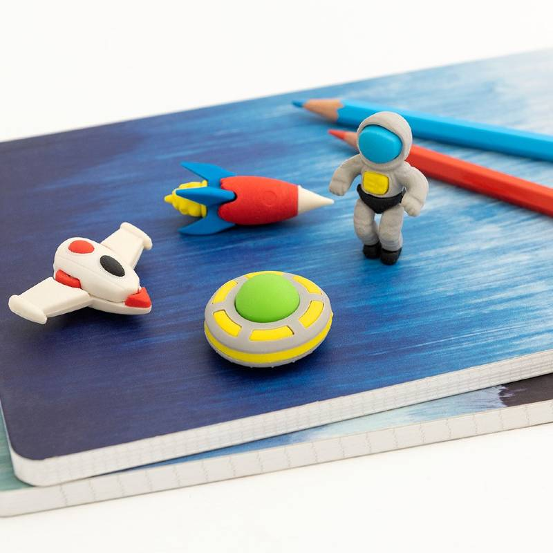 Space Age Erasers