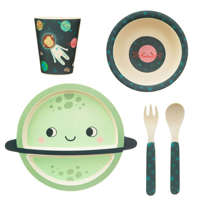 Space Explorer Tableware Set