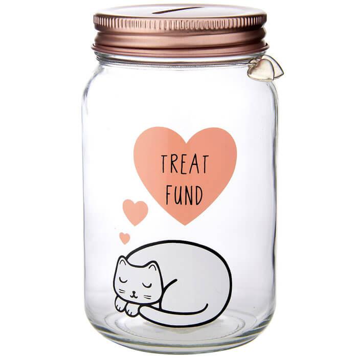 Cutie Cat Money Jar