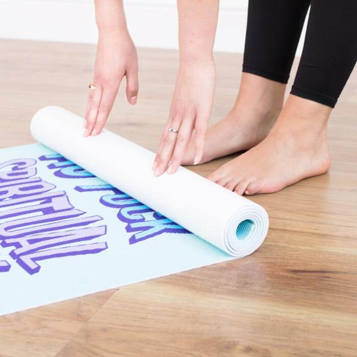 Spriritual as Fuck Yoga Mat