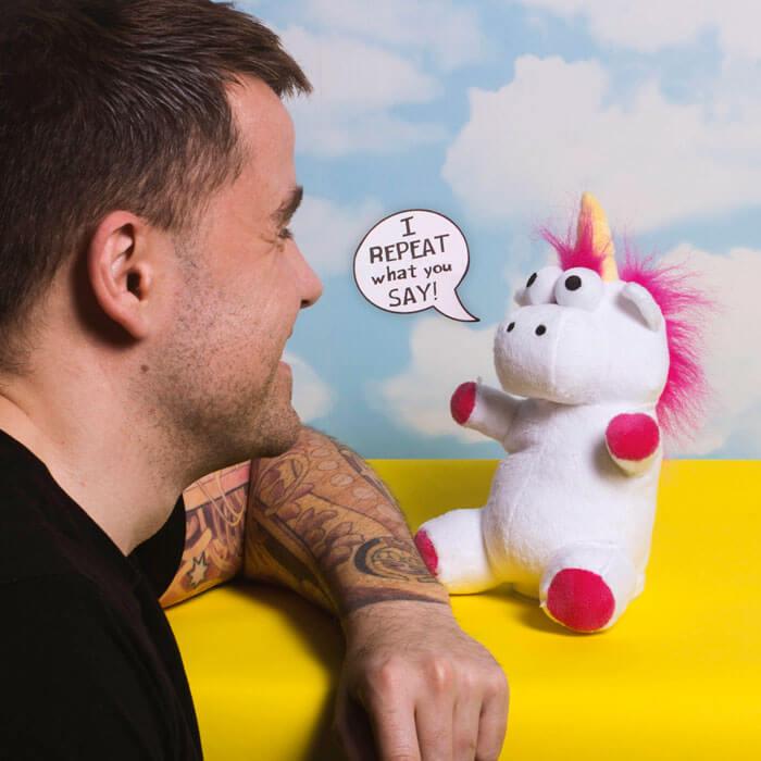 Talk Back Unicorn